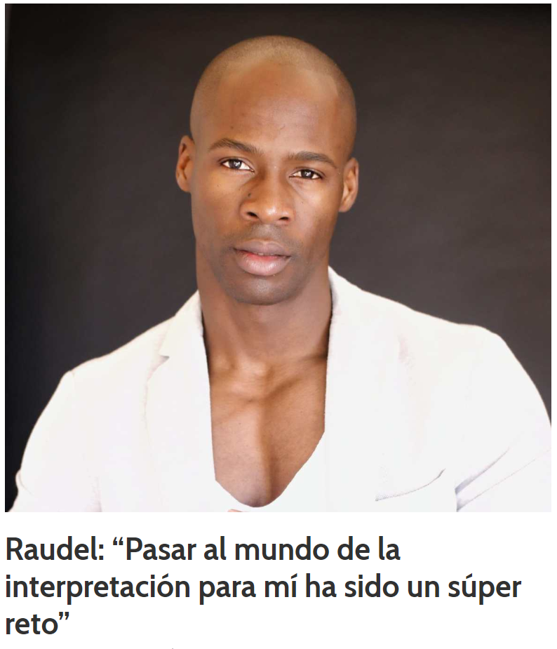 Representante Raudel Raúl, Actor, Tinglao Management, Madrid